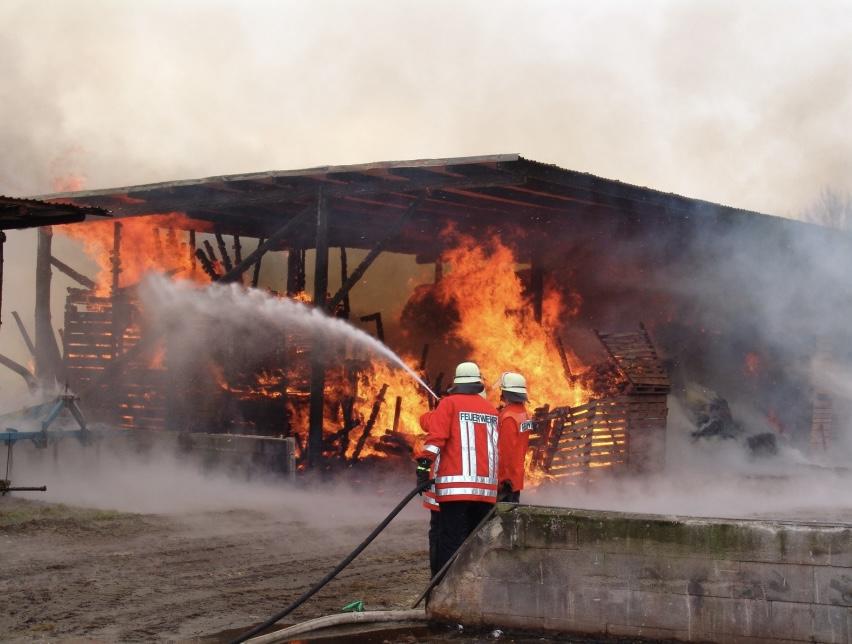 Einsatz der Feuerwehr